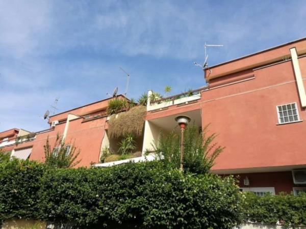 Villetta a schiera in vendita a Roma, Morena, Arredato, con giardino, 140 mq - Foto 7