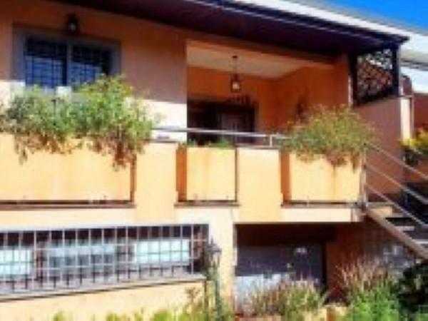 Villetta a schiera in vendita a Roma, Morena, Arredato, con giardino, 140 mq