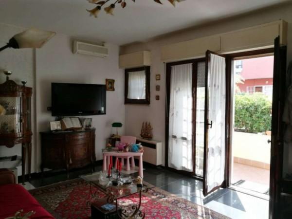 Villetta a schiera in vendita a Roma, Morena, Arredato, con giardino, 140 mq - Foto 5