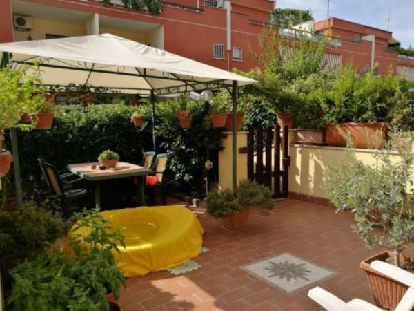 Villetta a schiera in vendita a Roma, Morena, Arredato, con giardino, 140 mq - Foto 19