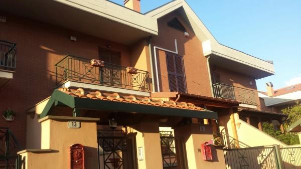 Villetta a schiera in vendita a Monte Compatri, Laghetto, 150 mq - Foto 1
