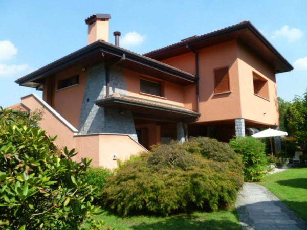 Villa in vendita a Varese, Arredato, con giardino, 530 mq - Foto 86
