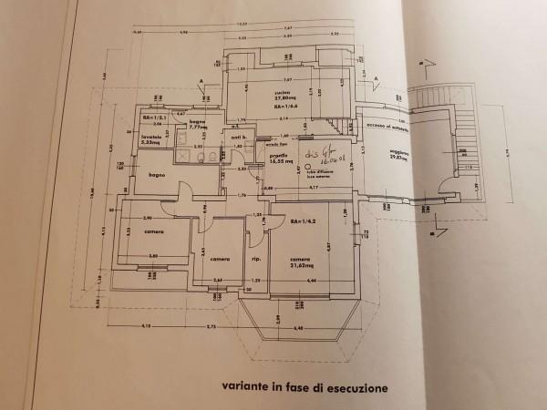 Villa in vendita a Varese, Arredato, con giardino, 530 mq - Foto 8