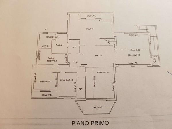 Villa in vendita a Varese, Arredato, con giardino, 530 mq - Foto 2