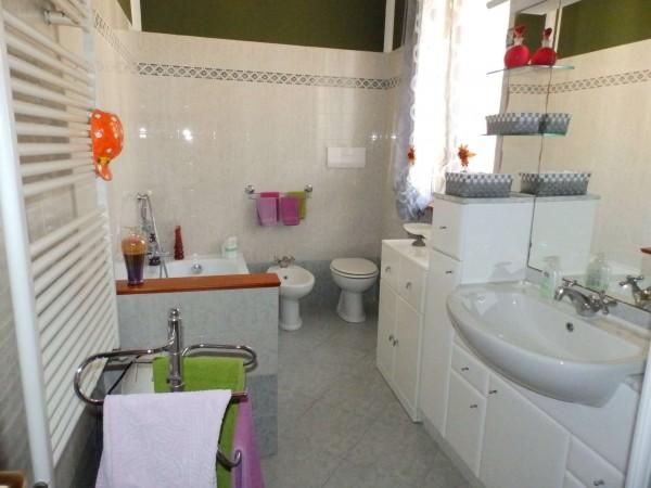 Casa indipendente in vendita a Verano Brianza, Parco Del Lambro, Con giardino, 140 mq - Foto 9