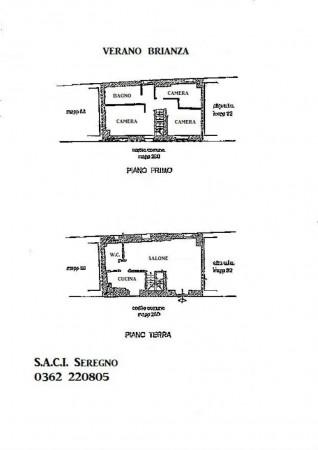 Casa indipendente in vendita a Verano Brianza, Parco Del Lambro, Con giardino, 140 mq - Foto 2