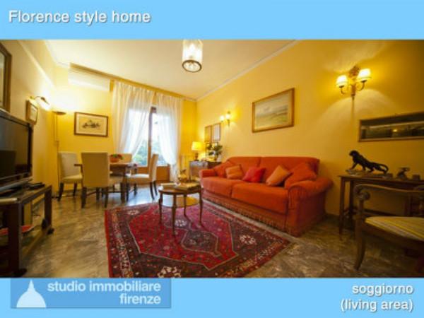 Appartamento in affitto a Firenze, Piazza Della Vittoria, Arredato, con giardino, 53 mq
