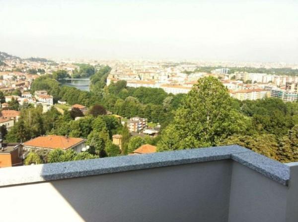 Appartamento in vendita a Torino, Precollina, Arredato, con giardino, 55 mq - Foto 2
