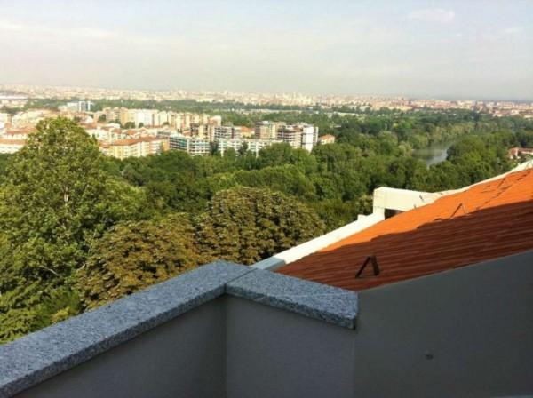 Appartamento in vendita a Torino, Precollina, Arredato, con giardino, 55 mq - Foto 3