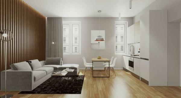 Appartamento in vendita a Milano, Washington, Con giardino, 61 mq - Foto 12