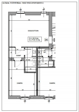 Appartamento in vendita a Milano, Washington, Con giardino, 61 mq - Foto 4