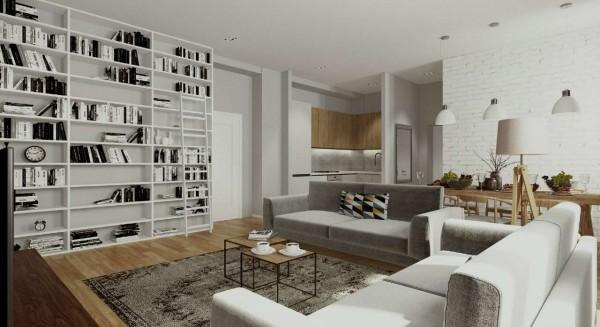 Appartamento in vendita a Milano, Washington, Con giardino, 61 mq - Foto 14