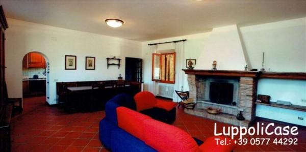 Villa in vendita a Monticiano, Con giardino, 400 mq - Foto 5