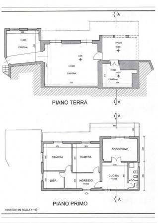 Casa indipendente in vendita a Mezzanego, Con giardino, 130 mq - Foto 2