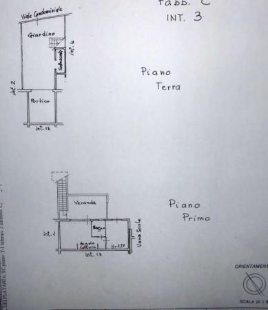 Villetta a schiera in vendita a Anzio, Cincinnato, Arredato, con giardino, 50 mq - Foto 2