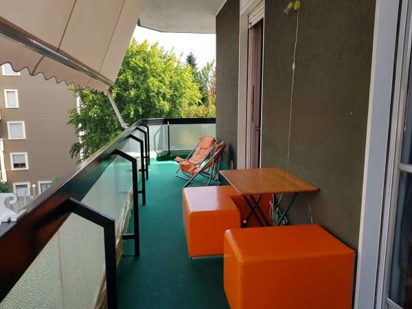 Appartamento in vendita a Monza, Triante, Arredato, con giardino, 55 mq - Foto 11