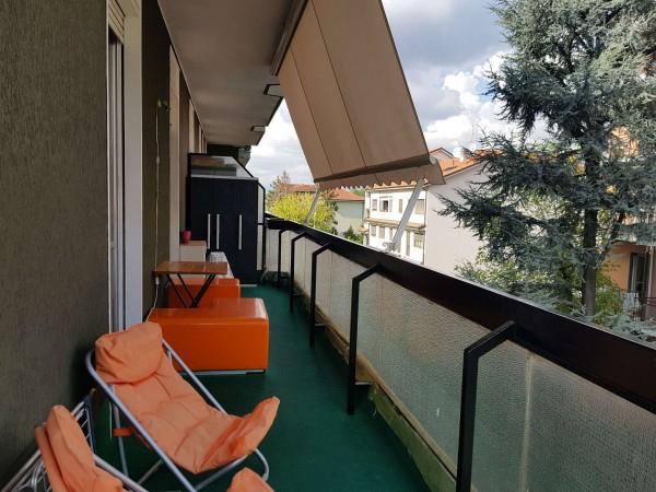 Appartamento in vendita a Monza, Triante, Arredato, con giardino, 55 mq - Foto 12