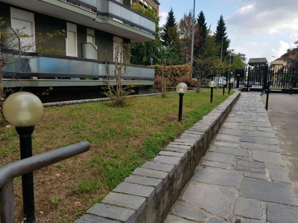 Appartamento in vendita a Monza, Triante, Arredato, con giardino, 55 mq - Foto 3