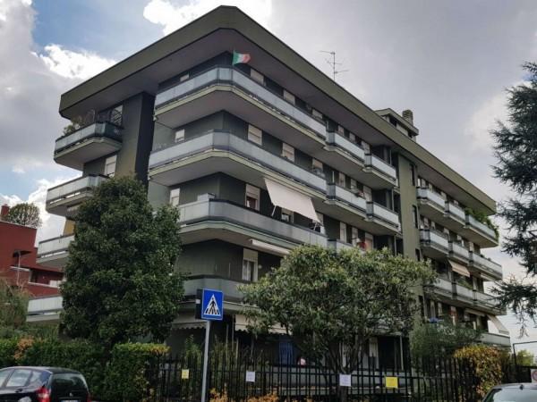 Appartamento in vendita a Monza, Triante, Arredato, con giardino, 55 mq