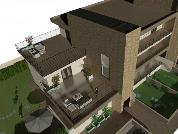 Appartamento in vendita a Roma, Casal De Pazzi, Con giardino, 56 mq - Foto 7