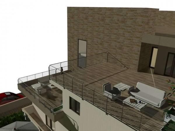 Appartamento in vendita a Roma, Casal De Pazzi, Con giardino, 56 mq - Foto 9