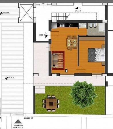 Appartamento in vendita a Roma, Casal De Pazzi, Con giardino, 56 mq - Foto 3