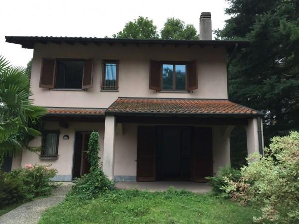 Villa in vendita a Cittiglio, Con giardino, 210 mq - Foto 17