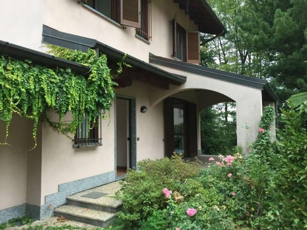 Villa in vendita a Cittiglio, Con giardino, 210 mq - Foto 16