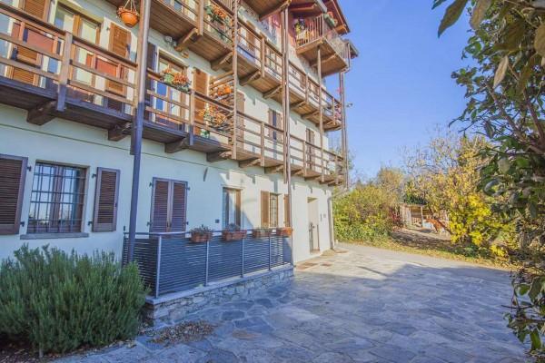 Appartamento in vendita a Nebbiuno, Case Sparse Campiglia, Con giardino, 90 mq - Foto 4