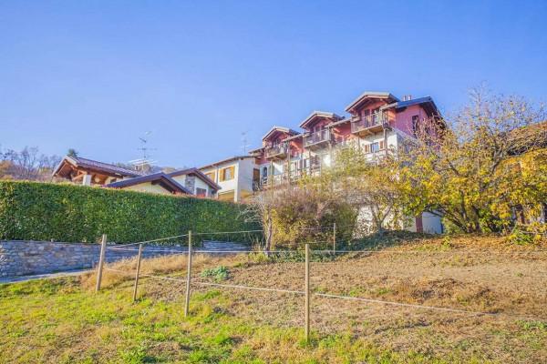 Appartamento in vendita a Nebbiuno, Case Sparse Campiglia, Con giardino, 90 mq - Foto 3