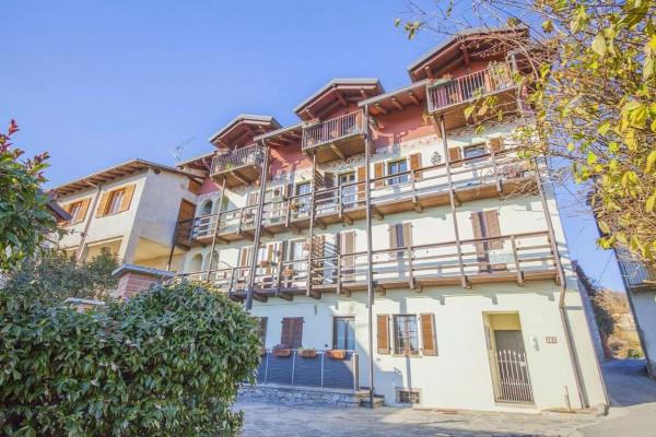 Appartamento in vendita a Nebbiuno, Case Sparse Campiglia, Con giardino, 90 mq - Foto 5