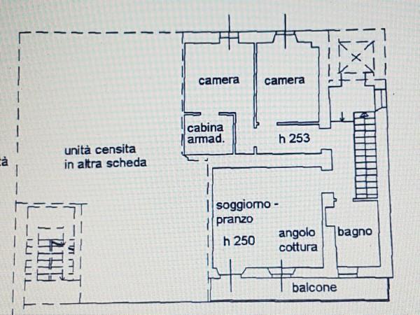 Appartamento in vendita a Nebbiuno, Case Sparse Campiglia, Con giardino, 90 mq - Foto 26