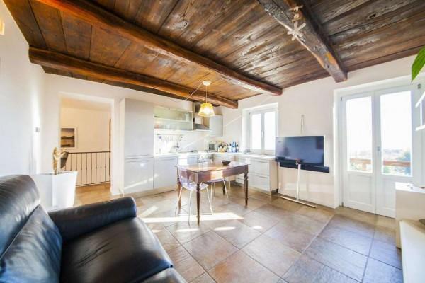 Appartamento in vendita a Nebbiuno, Case Sparse Campiglia, Con giardino, 90 mq - Foto 11
