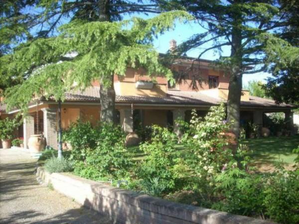 Villa in vendita a Roma, Testa Di Lepre, Con giardino, 400 mq