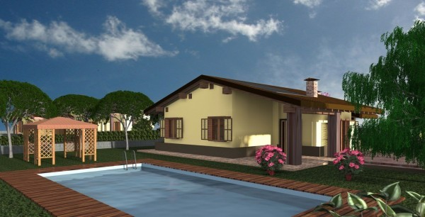 Villa in vendita a Perugia, Monte Malbe, 130 mq - Foto 1