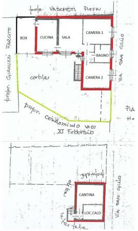 Casa indipendente in vendita a Alpignano, Centro, Con giardino, 99 mq - Foto 3