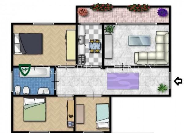 Appartamento in vendita a Varese, Ippodromo, Con giardino, 123 mq - Foto 2