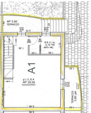 Appartamento in vendita a Bertinoro, Santa Maria Nuova, Arredato, con giardino, 100 mq - Foto 4