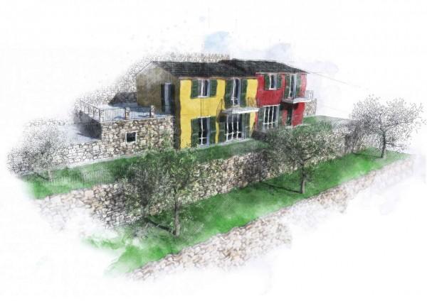 Villa in vendita a Zoagli, San Bernardo, 215 mq