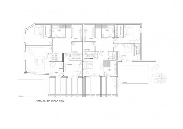 Villa in vendita a Zoagli, San Bernardo, 215 mq - Foto 13