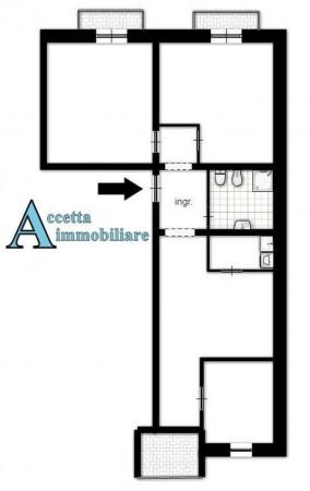 Appartamento in vendita a Taranto, Centrale, Arredato, 105 mq - Foto 2