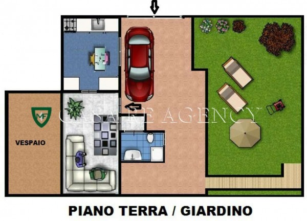 Immobile in vendita a Induno Olona, Centro, Con giardino, 230 mq - Foto 2