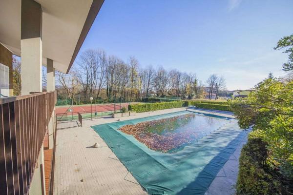 Villetta a schiera in vendita a Bregano, Arredato, con giardino, 119 mq - Foto 6