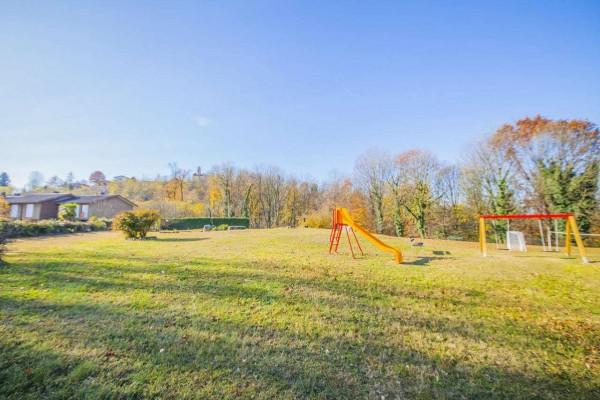 Villetta a schiera in vendita a Bregano, Arredato, con giardino, 119 mq - Foto 15