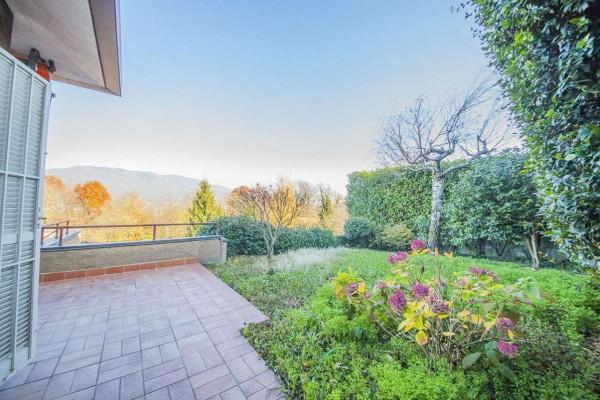 Villetta a schiera in vendita a Bregano, Arredato, con giardino, 119 mq - Foto 20