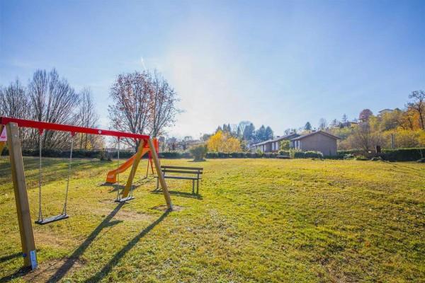 Villetta a schiera in vendita a Bregano, Arredato, con giardino, 119 mq - Foto 17