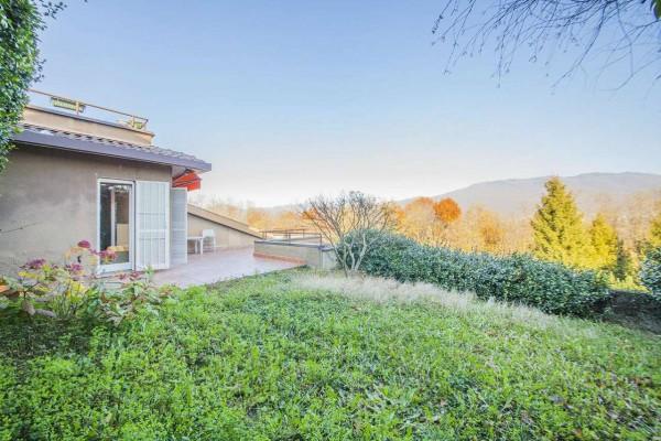 Villetta a schiera in vendita a Bregano, Arredato, con giardino, 119 mq - Foto 14