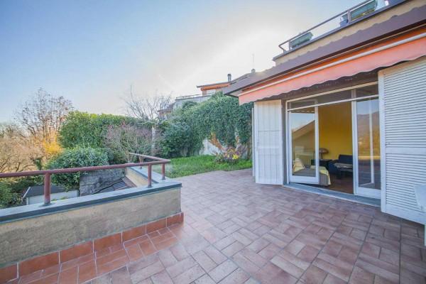 Villetta a schiera in vendita a Bregano, Arredato, con giardino, 119 mq - Foto 31