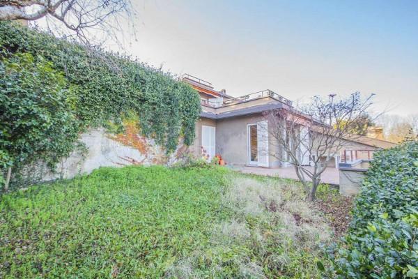 Villetta a schiera in vendita a Bregano, Arredato, con giardino, 119 mq - Foto 28
