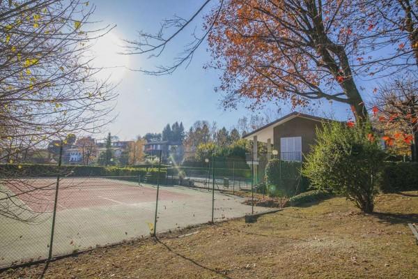 Villetta a schiera in vendita a Bregano, Arredato, con giardino, 119 mq - Foto 23